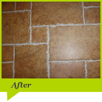 After Tile & Grout Cleaning